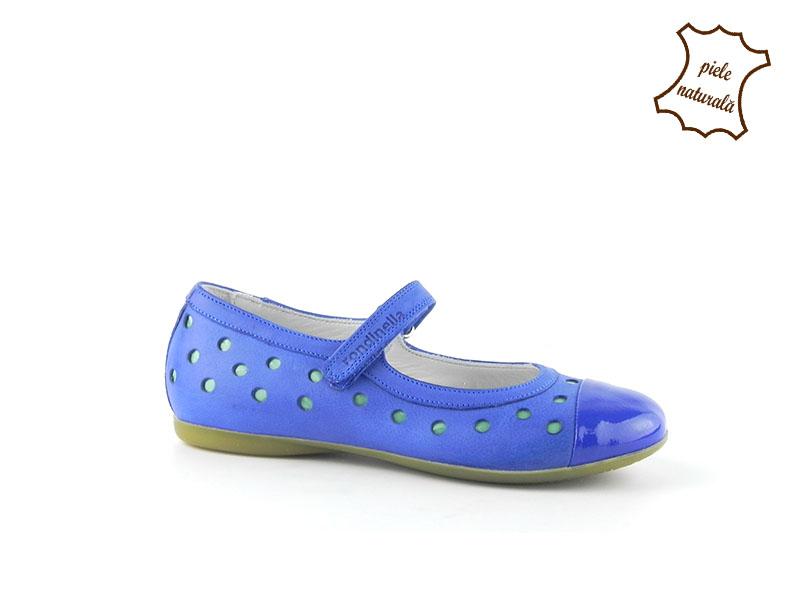 Pantofi din piele naturala BAM 280