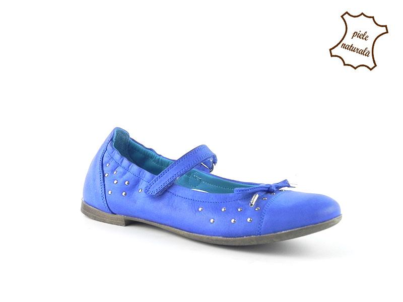 Pantofi din piele naturala BAM 283