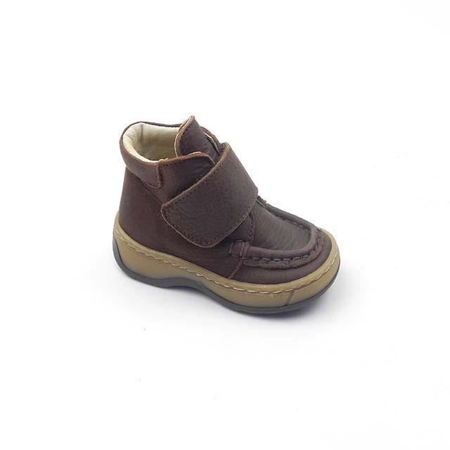 Pantofi baieti din piele naturala BAM 535