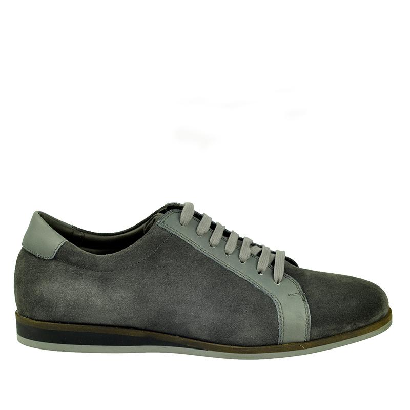 Pantofi barbati David gri