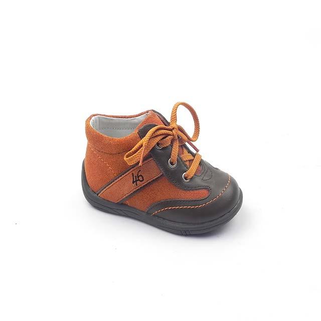 Pantofi casual BAM 536 maro-portocaliu