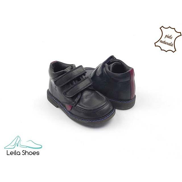 Pantofi casual din piele naturala BAM 592