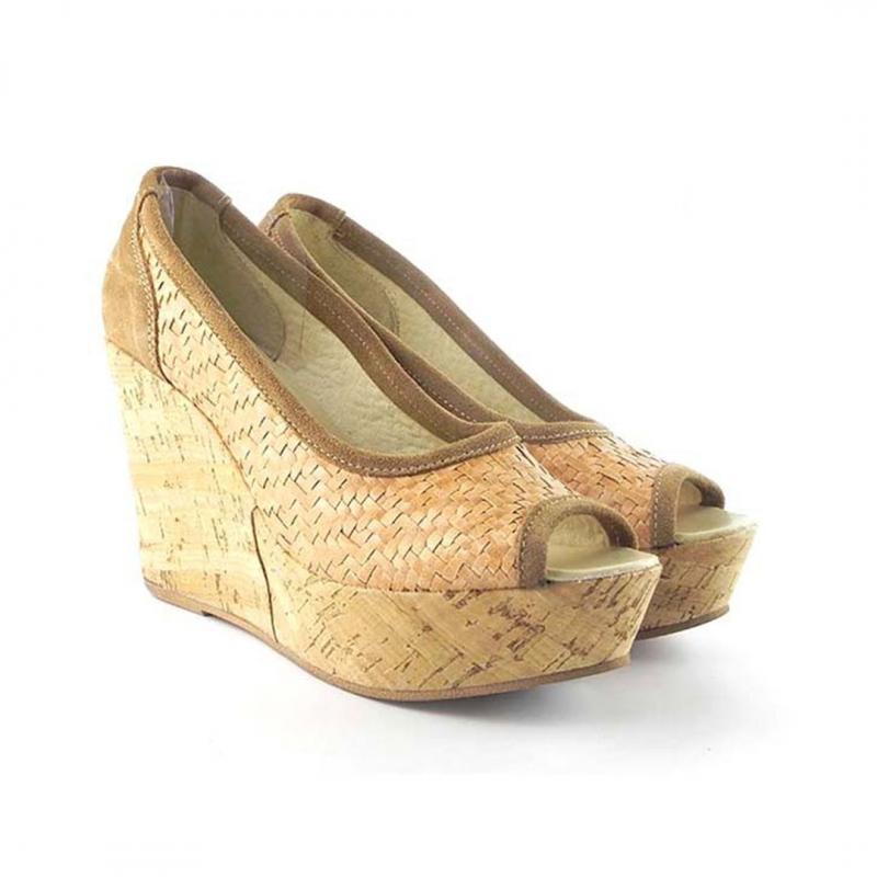 Pantofi decupati Zeppa 0027B