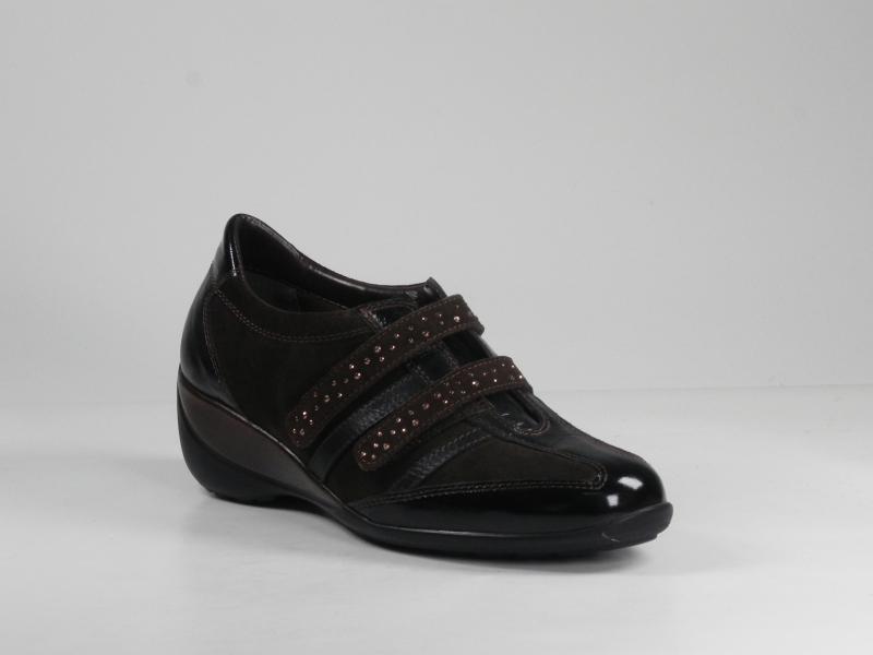 Pantofi dama din piele velur 7077-004