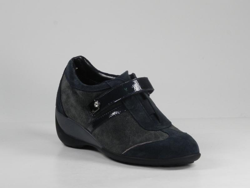 Pantofi dama din piele velur 7077-394