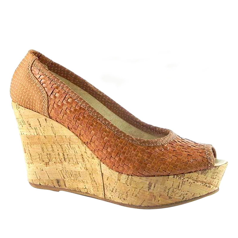 Pantofi decupati Zeppa 0024M