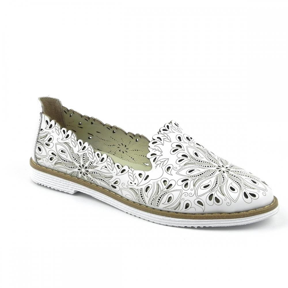 Pantofi dama Estina alb