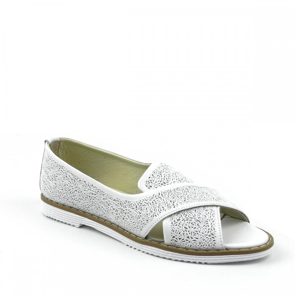 Pantofi dama Granisa alb