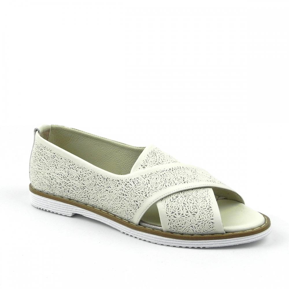 Pantofi dama Granisa crem