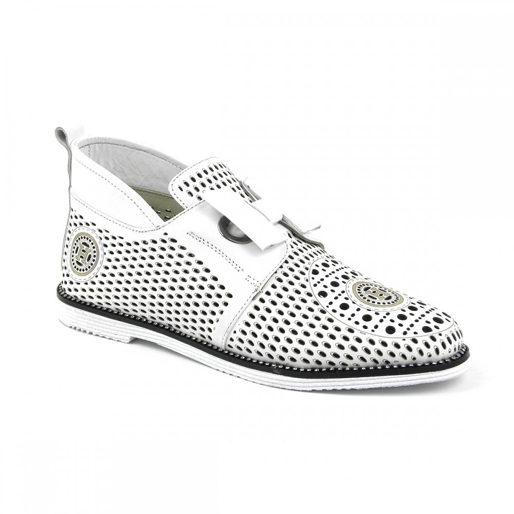 Pantofi dama Ivona alb