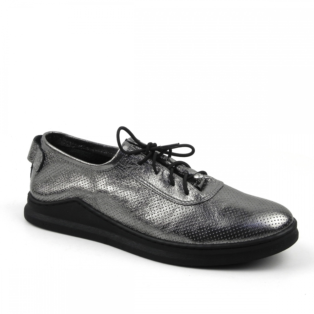 pantofi dama lanaja argintiu