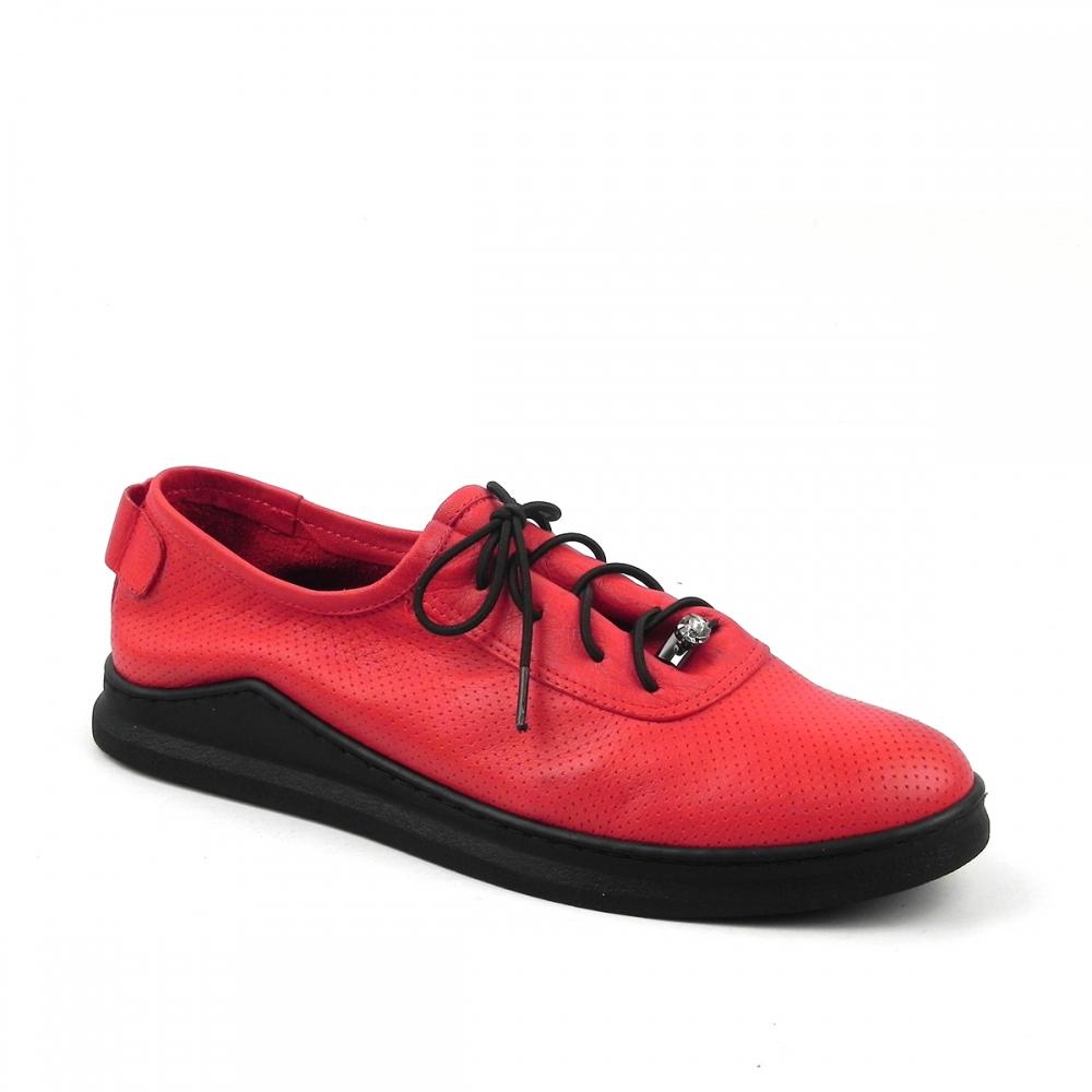 pantofi dama lanaja rosu