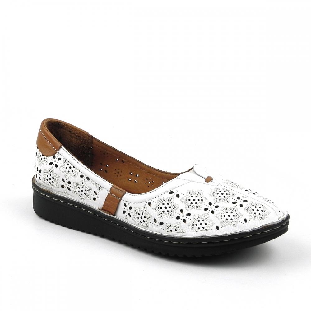 Pantofi dama Ludmilla alb