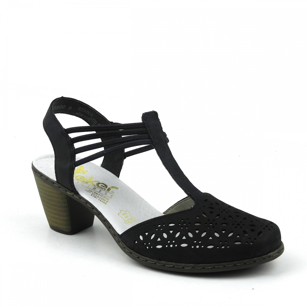 Pantofi dama Mina bleumarin RIEKER