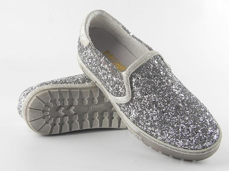 Pantofi dama piele naturala Adela gri