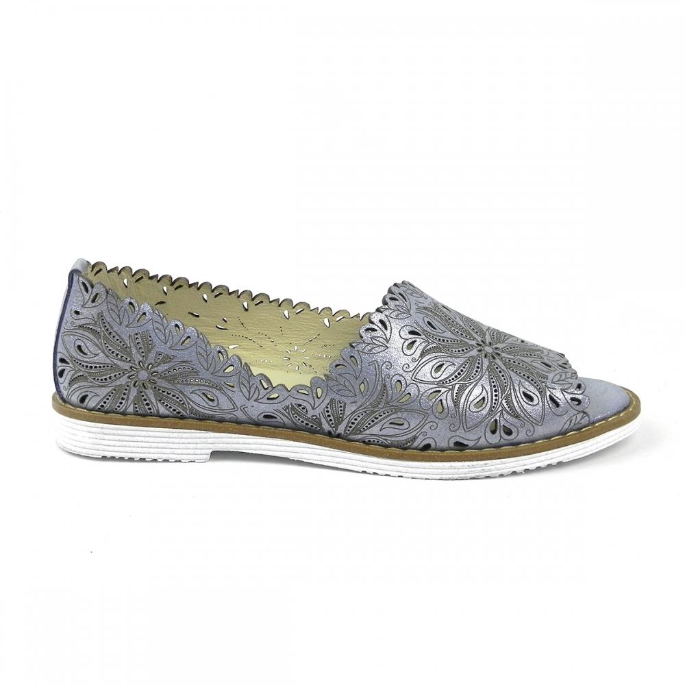 Pantofi dama romara albastru deschis