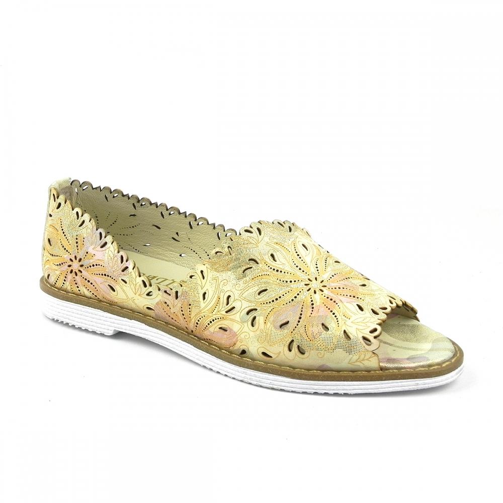 Pantofi dama romara galben