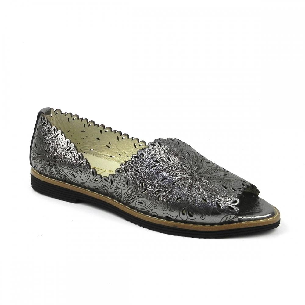 Pantofi dama romara gri