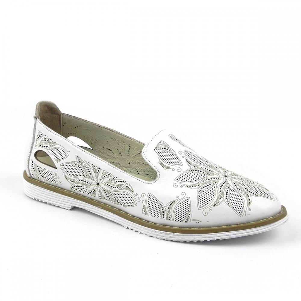 Pantofi dama Vilovela alb
