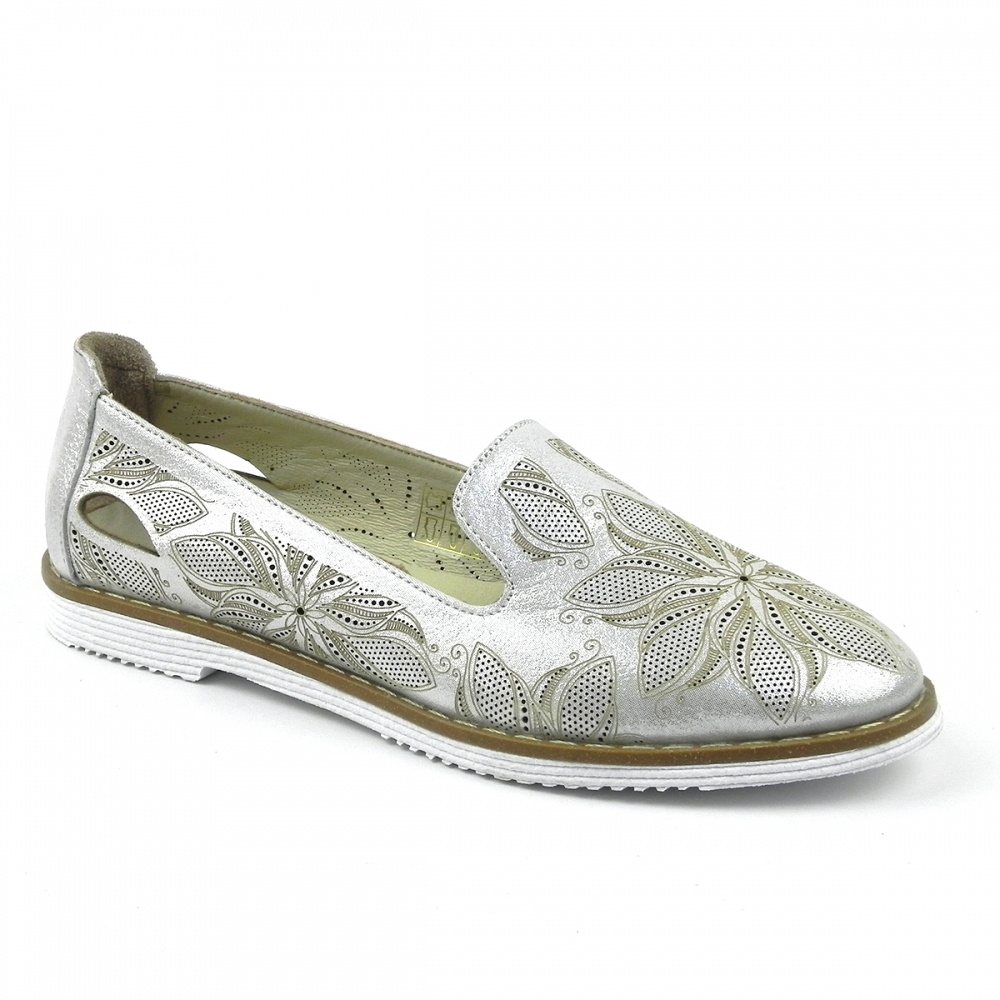 Pantofi dama Vilovela argintiu