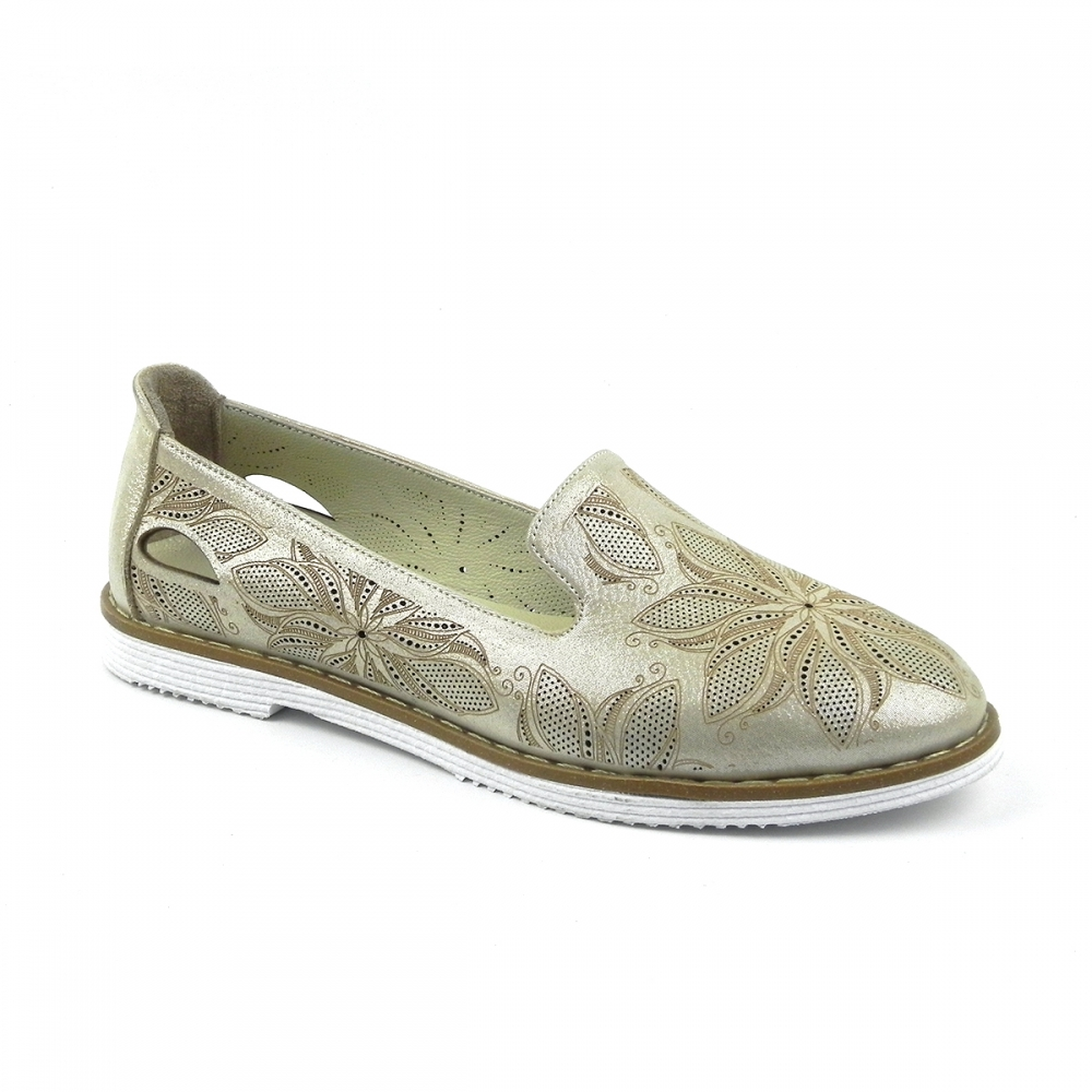 Pantofi dama Vilovela auriu