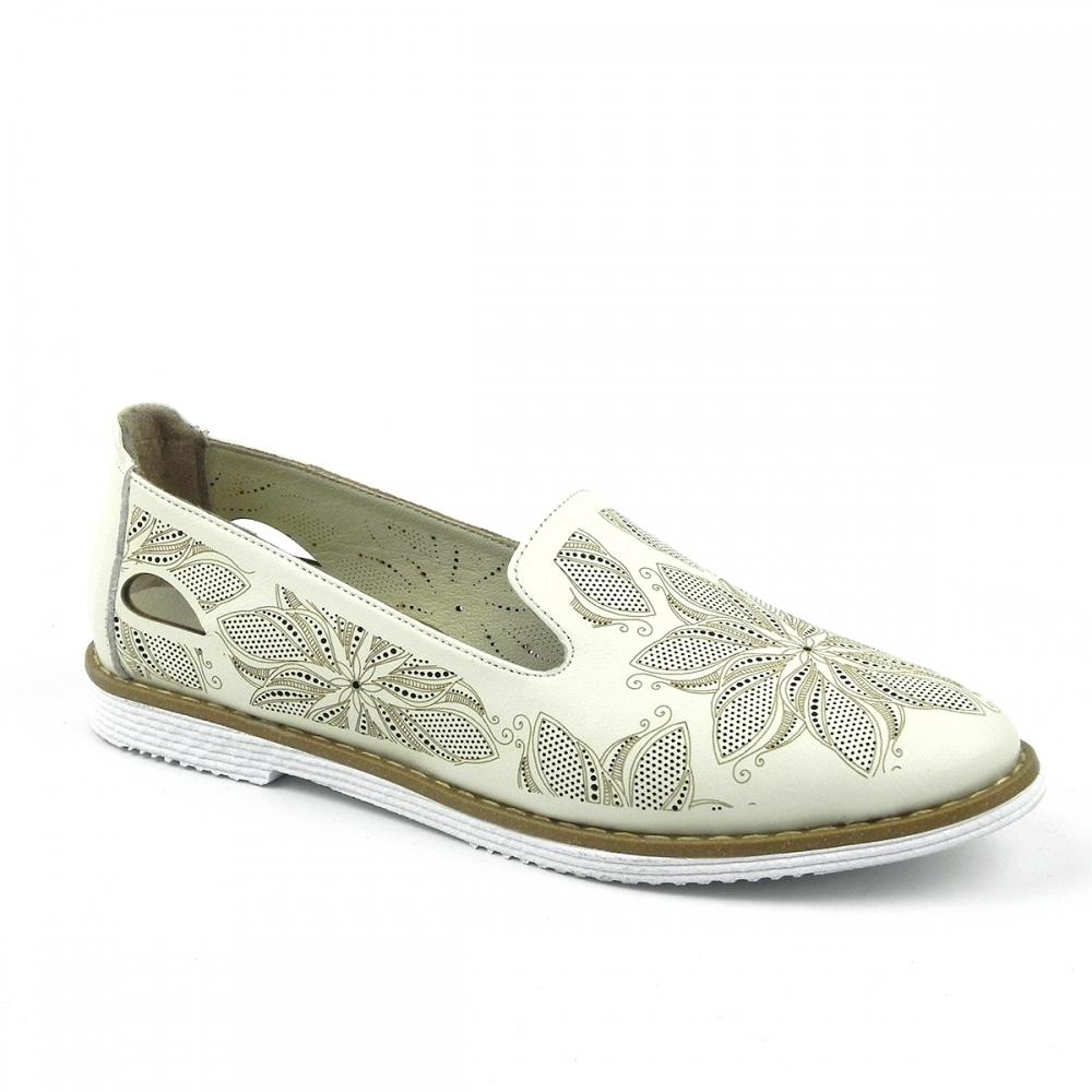 Pantofi dama Vilovela crem