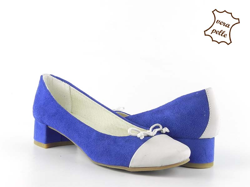 Pantofi din piele intoarsa GRETA 026 RR