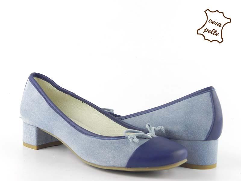 Pantofi din piele intoarsa GRETA 026 SC