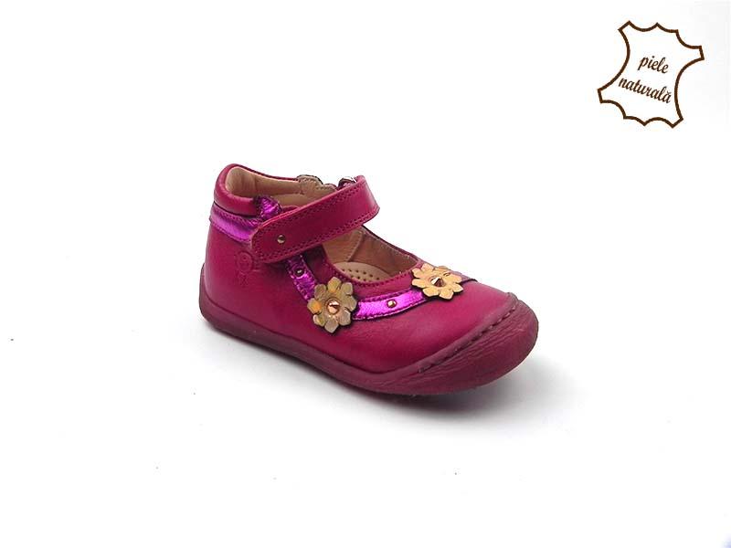 Pantofi din piele naturala BAM 455