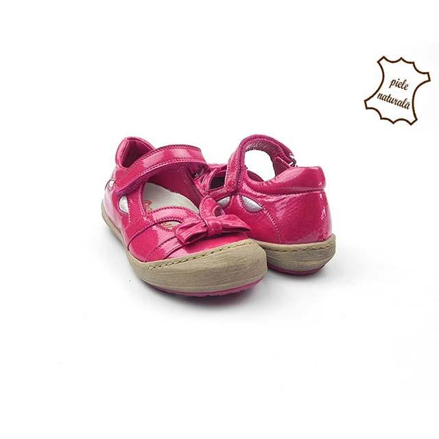 Pantofi din piele naturala BAM 474