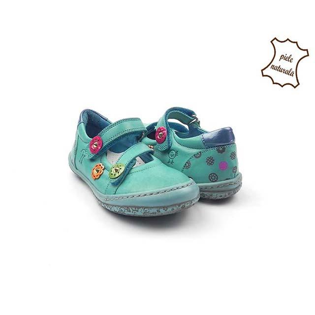 Pantofi din piele naturala BAM 475