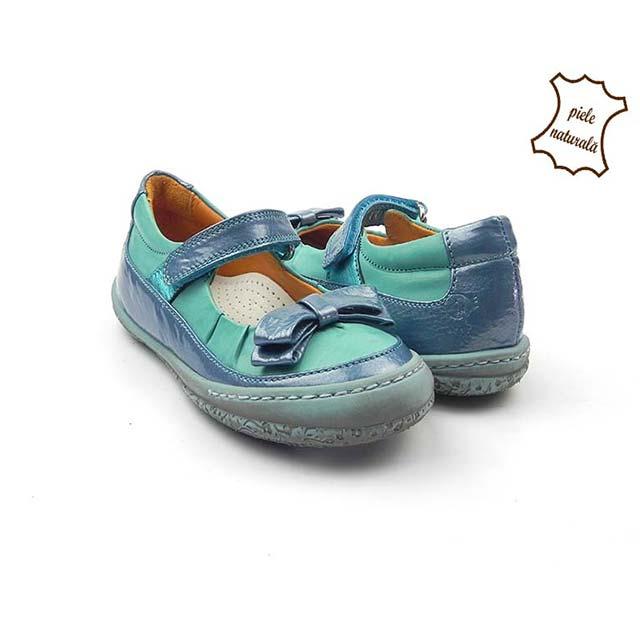 Pantofi din piele naturala BAM 477