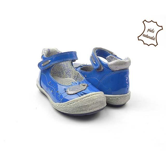 Pantofi din piele naturala BAM 479