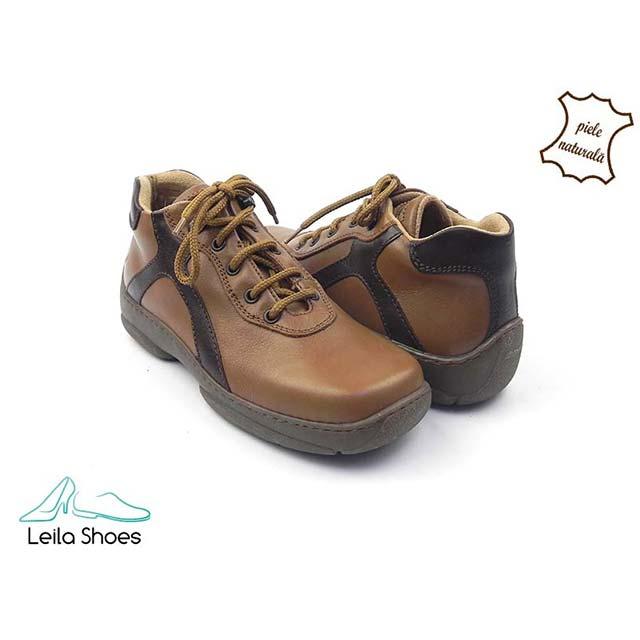 Pantofi din piele naturala BAM 610