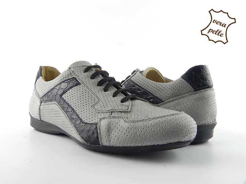 Pantofi sport barbatesti din piele naturala HUN-15