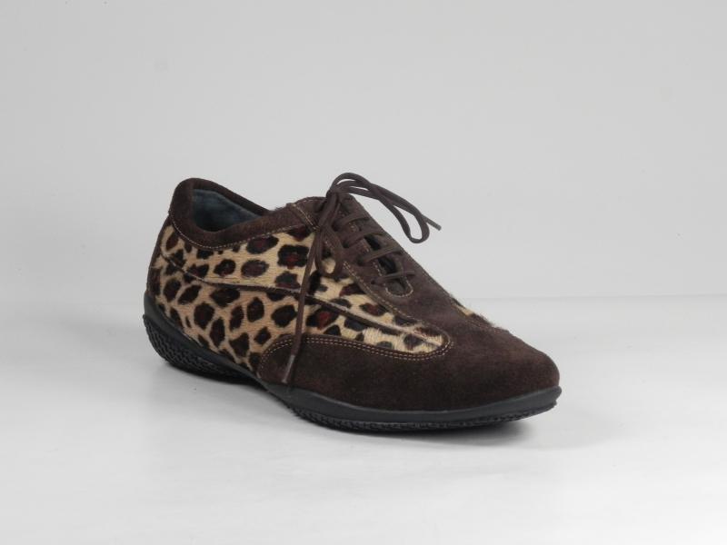 Pantofi sport dama din piele velur 7088-721