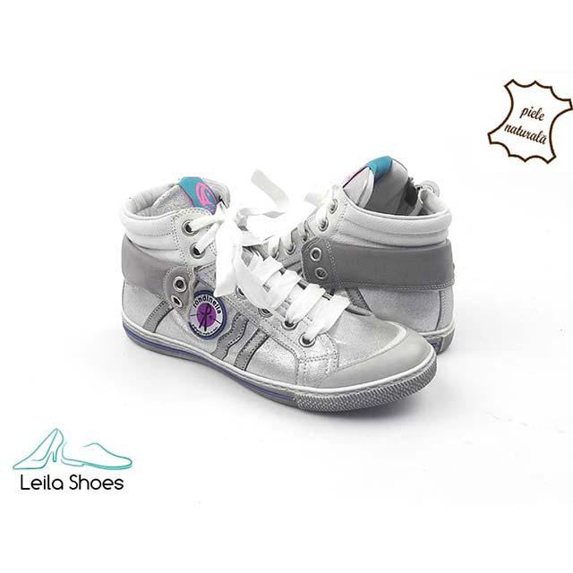 Pantofi sport din piele naturala BAM 582