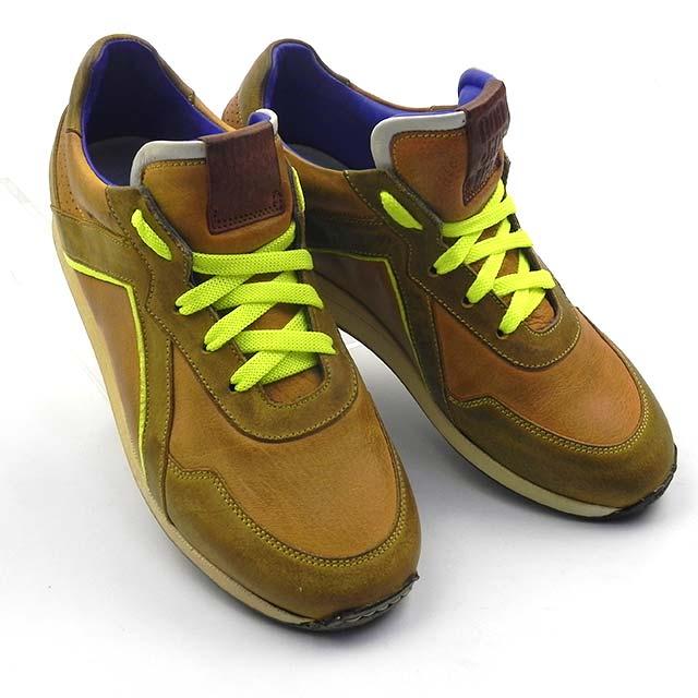 Pantofi sport din piele naturala BAM 724