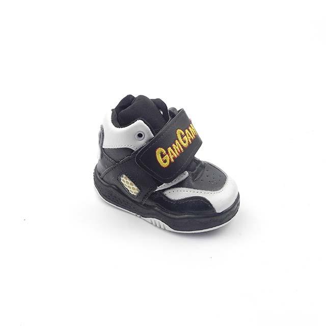 Pantofi sport unisex BAM 541, negru-alb