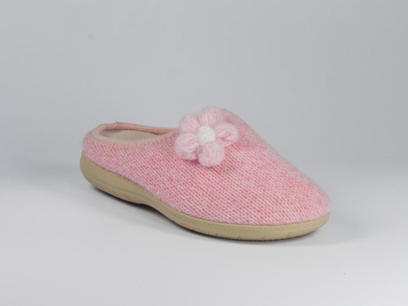 Papuci de casa roz 7641-434