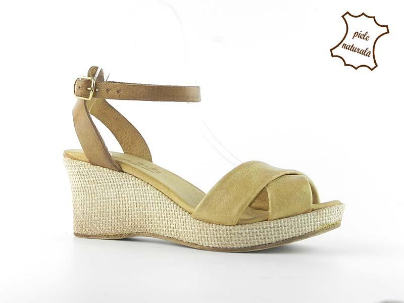 Sandale din piele naturala 208BX DNI