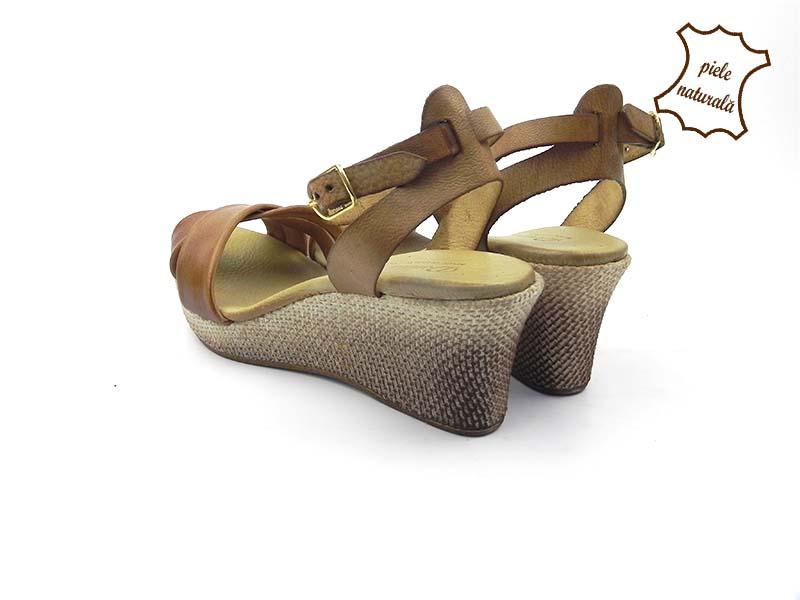 Sandale din piele naturala 208CX DNI