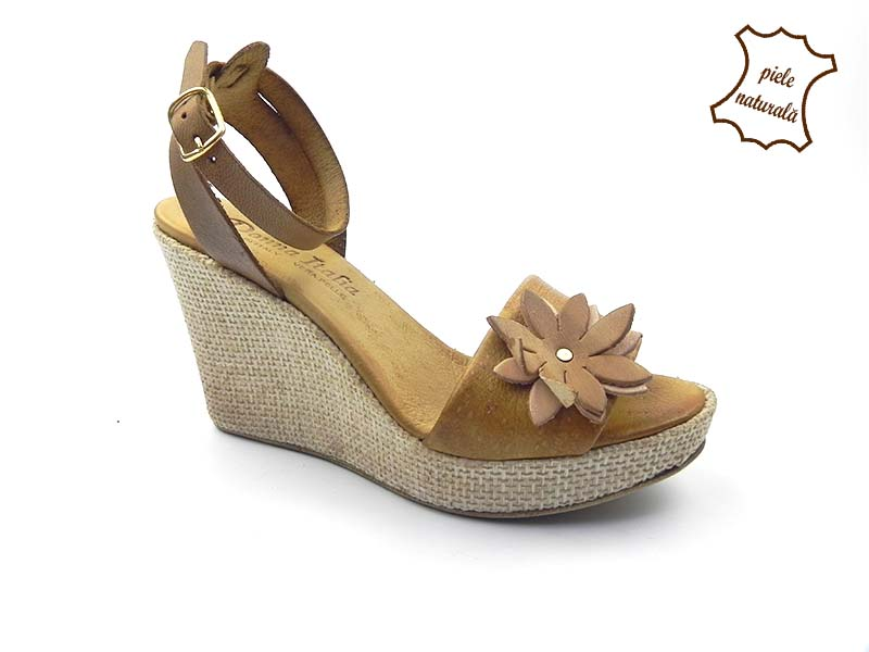 Sandale dama din piele naturala ANETTA 302CF1 DNI