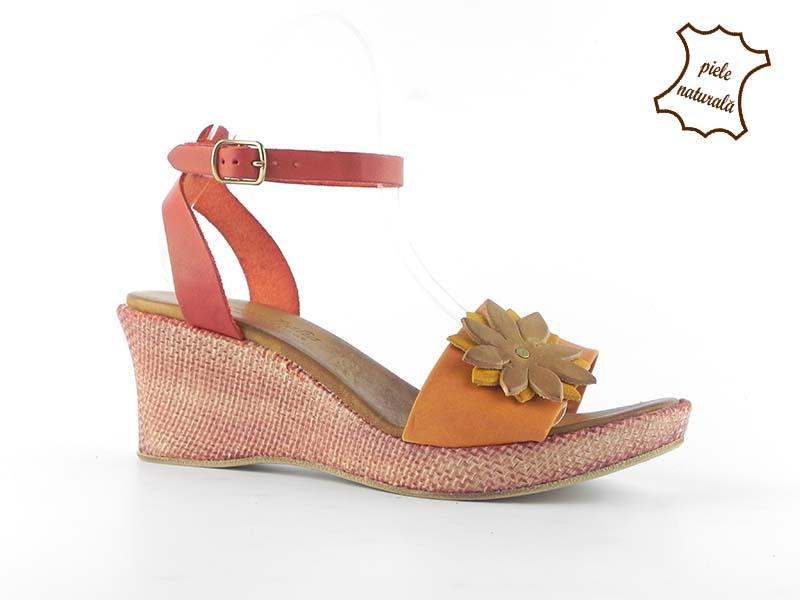 Sandale dama din piele naturala ANETTA 302PF1 DNI