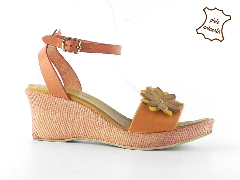 Sandale dama din piele naturala ANETTA 302PF2 DNI