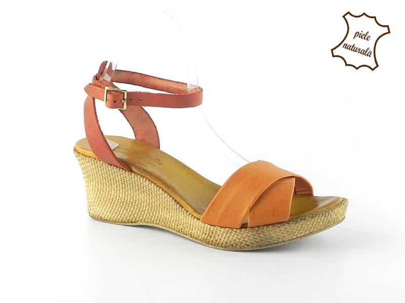 Sandale dama piele naturala LUCY 303PDIX DNI