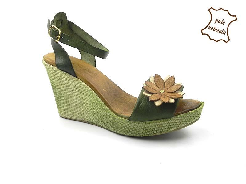 Sandale din piele naturala 408VF DNI