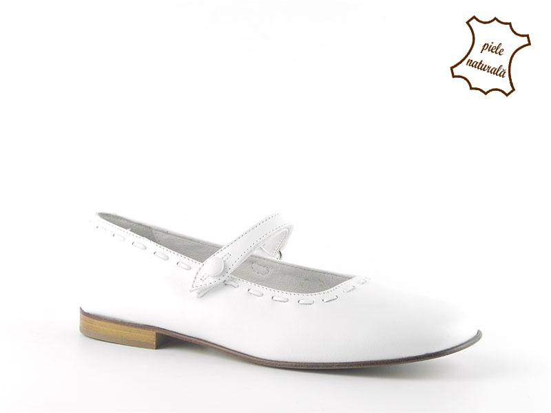 Pantofi din piele naturala BAM 291