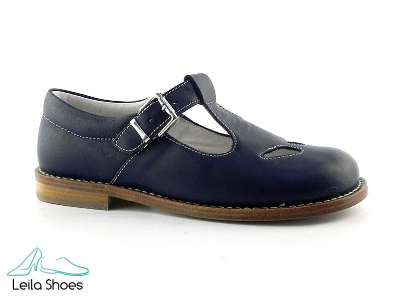 Pantofi din piele naturala BAM 360