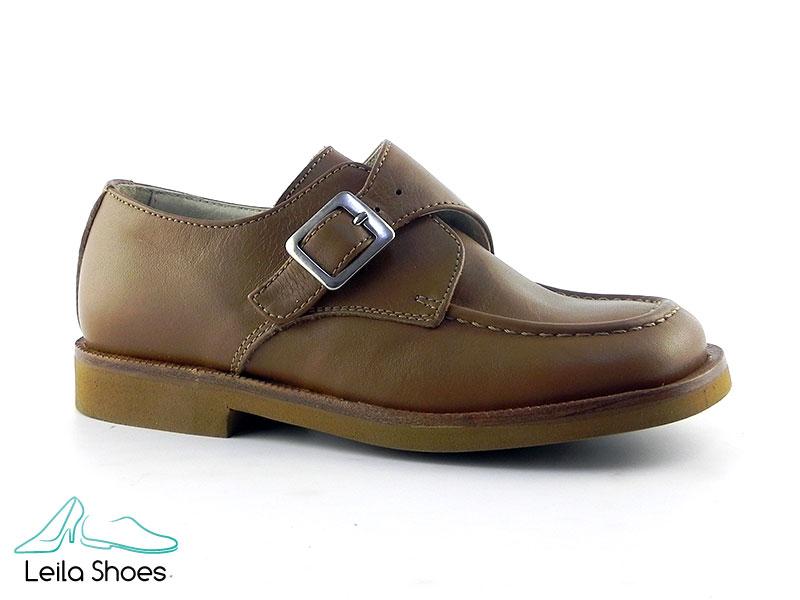 Pantofi din piele naturala BAM 365